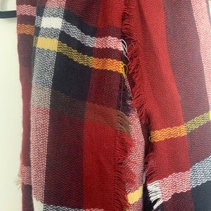 Accessories - Oversized Cozy Square Scarf